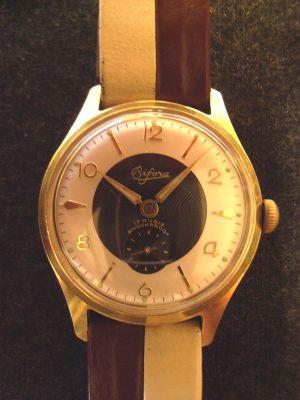 Bifora Herren Armbanduhr frühe 1950er Jahre - Uhr 6