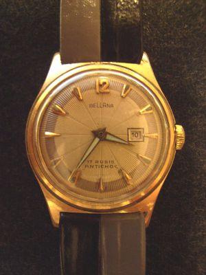 Bellana Herren Armbanduhr 1950er Jahre - Uhr 5