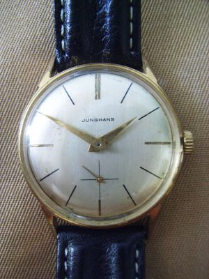 Herren Armbanduhr, Ende 1950er Jahre, Hersteller Junghans - Uhr