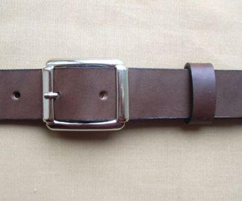 Herrengürtel, Modell 40 - Typ 2 Braun