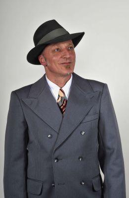 Doppelreiher Anzug Modell 1939 Hellgrau