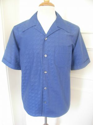 Hollywood Shirt - Twotone Weinrot / Weis