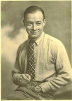 Herrenhemd Modell 1930 Heinz Beige/ Schwarz gestreift