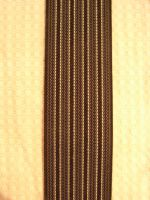 Hosenträger Typ 2  Grau / Schwarz gestreift