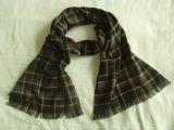 Schal Typ 4, Farbe:Brauntöne kariert
