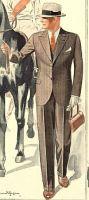 Anzug, Modell 1935 Nachtblau