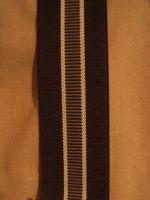 Hosenträger - Typ 2 Schwarz gestreift