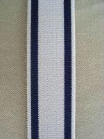 Hosenträger - Typ 1 Hellgrau/Dunkelblau