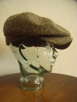 Modell Worker 1940 , Tweed Brauntöne meliert
