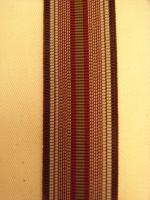 Hosenträger - Typ 2 Weinrot gestreift