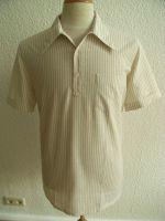 Sommerhemd, Modell 1942 gestreift, Creme / Ocker