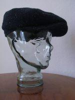Modell Max 1925, Tweed, Schwarz / Nachtblau meliert.