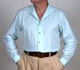 Spatenkragenhemd Mod. 1950 Langarm, Farbe Mint.
