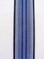 Hosenträger - Typ 2 Blau / Schwarz gestreift
